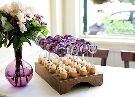 Украшение столов гостей на свадьбе своими руками